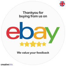 24 eBay Shop Thankyou Stickers For Sellers - Seals - Labels