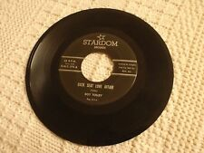 ROY TOLLEY  BACK SEAT LOVE AFFAIR/THE END OF THE LINE  STARDOM 275 M-