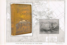 Alaska and the Klondike Gold Fields 1897 Engravings & Halftones Fm Photos Map