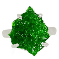 Chrome Diopside 925 Sterling Silver Ring Jewelry s.7 AR159692