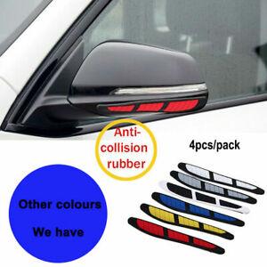 4PCS Car Door Edge Guard Strip Scratch Protector Anti-collision Rubber Strips