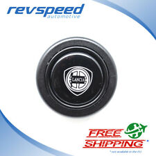ELETTRO Steering Wheel Horn Button for MOMO OMP With Lancia Logo Emblem