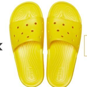 Unisex CROCS Classic Slides Sandals Vegan 9+ colors