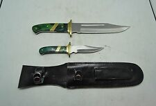 Chipaway Cutlery Fixed Blade Hunting Knives with Leather Sheath - FREE SHIPPING