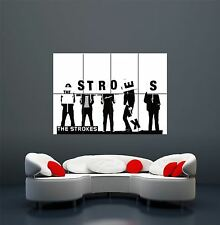 THE STROKES INDIE POP BAND MUSIC GROUP GIANT WALL ART PRINT POSTER X2340
