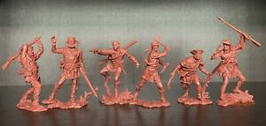 Publius Trappers Toy soldiers Publius 1:32 red-brown