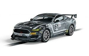 Scalextric C4221 Ford Mustang GT4 - Academy Motorsport 2020 1:32 Slot Car *DPR*