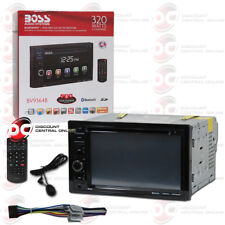 "BOSS BV9364B CAR 2DIN 6.2"" TOUCHSCREEN LCD DVD CD USB BLUETOOTH STEREO RECEIVER"