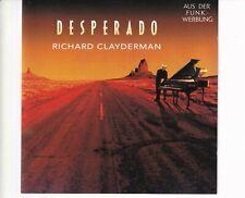 CD RICHARD CLAYDERMANdesperadoHOLLAND 1992 EX+ (B5676)