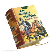 new 2017 Miniature Book Español Don Quijote de la Mancha para Jovenes ilustrado