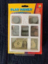 Play Money K+ Kids-1-100  Bills Pennies, Nickels, Dimes, Quarters, 1/2 Dollars