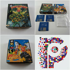 Rodland & Double Dragon A Storm Game SET for the Amiga tested & working VGC