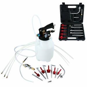 Getriebeöl Befüllgerät Öleinfüllgerät Handpumpe 6L+14 ATF Adaptersatz Ölwechsel