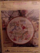 "DMC Counted Cross Stitch Bunnykins Pastry Making K221 20cm/8"""