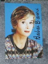 Actress BARBARA BARRIE Signed 4x6 Photo AUTOGRAPH 1A