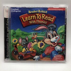 Reader Rabbit Learn to Read with Phonics Preschool & Kindergarten
