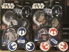 Star Wars Fidget Spinner Complete Set Of 6