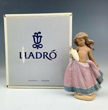 New ListingIn Box Retired Lladro Little Peasant Girl 12332 Spain Porcelain Figurine Nr Wil