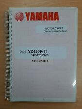 Yamaha YZ450F(T) Owners Workshop Service Manual