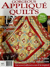 GORGEOUS  APPLIQUE  QUILTS  MAGAZINE  2011.    PATTERN SHEET ATTACHED