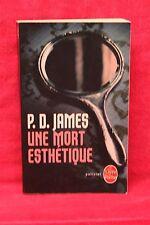 Une mort esthétique - Phyllis Dorothy James - Livre - Occasion