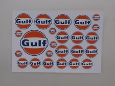 1/10 Decal Sheet Gulf clear vinyl