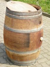 225L Weinfass Regentonne mit original Fassfront Deckel, Holzfass, Wasserfass