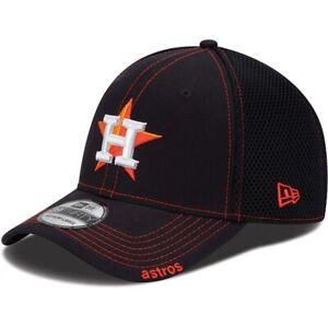 2021 Houston Astros New Era Neo 39THIRTY Stretch Flex Mesh Back Cap Hat 3930