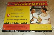 The Apartment movie posterJack Lemmon poster, Shirley Maclaine, Billy Wilder