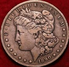 1890-S San Francisco Mint Silver Morgan Dollar