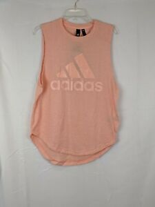 Adidas Training Tank, Glow Pink, Women's Small