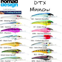 Nomad Design DTX Minnow 200mm Sinking Hardbody Fishing Lure (dives 40ft)