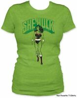She-Hulk Women Marvel Comics Licensed Junior T Shirt