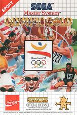 ## SEGA Master System - Olympic Gold Barcelona 92 - TOP / MS Spiel ##