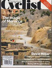 Cyclist Magazine #10 UK The Thrill of the Ride July 2013, Morocco, David Millar.