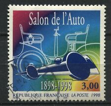 FRANCE TIMBRE OBL N°  3186 CENTENAIRE DU SALON DE L ART VOITURE BOLIDE