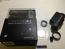 CONTOURPLUS2 HD 1080p Helmet Cam RACING DASH CAMERA+FLAT LENS NO FISH EYE VIEW