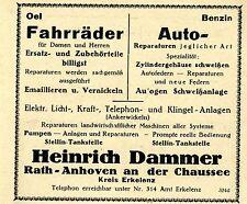 Heinrich Dammer Rath-anhoven riparazioni storica la pubblicità di 1926