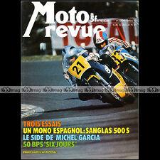 MOTO REVUE N°2295 SIDE-CAR GEP, SANGLAS 500 S, BPS 50 SUPER ELAN, ROUGERIE 1976