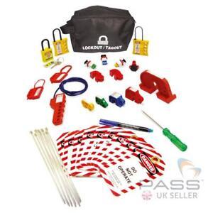 LOTO Miniature Circuit Breaker (MCB) Lockout Kit