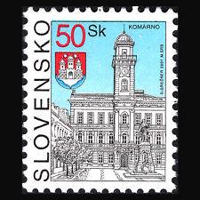 "Slovakia 2001 - Cities ""Komárno & Pieštany"" Architecture - Sc 226/7 MNH"