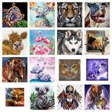 5D Diy Animal Drill Diamond Painting Arts Cross Stitch Kits Decor Embroidery