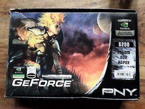Geforce 6200 256MB DDR AGP8X Graphics Accelerator 3D PNY