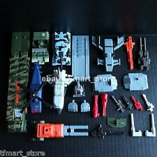Transformers RID Commandos Ruination Combiners by Hasbro - G1 Bruticus Repaint