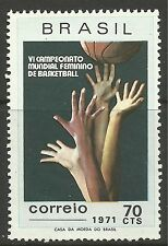 BRAZIL. 1971. Basketball Championships. SG: 1320. Unused.