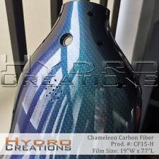 "Hydrographic Film Hydro Dip Water Transfer Chameleon Carbon Fiber (19"" x 77"")"