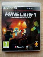 Minecraft PS3 PlayStation 3 Edition - Tested - Kids Game