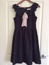 New Alannah Hill Black Dot Dress Size 8