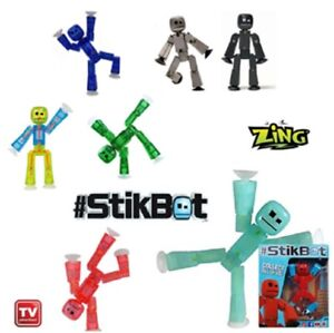 Genuine Boxed Stikbot Robot Stickbots Stop Motion Animation Autumn New Colours
