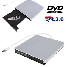 Slim Externes USB 3.0 DVD Laufwerk RW CD DVD+RW Brenner Player für Laptop PC Mac